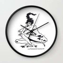 la brigida adultez Wall Clock