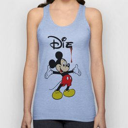The Poorly Mouse Unisex Tank Top