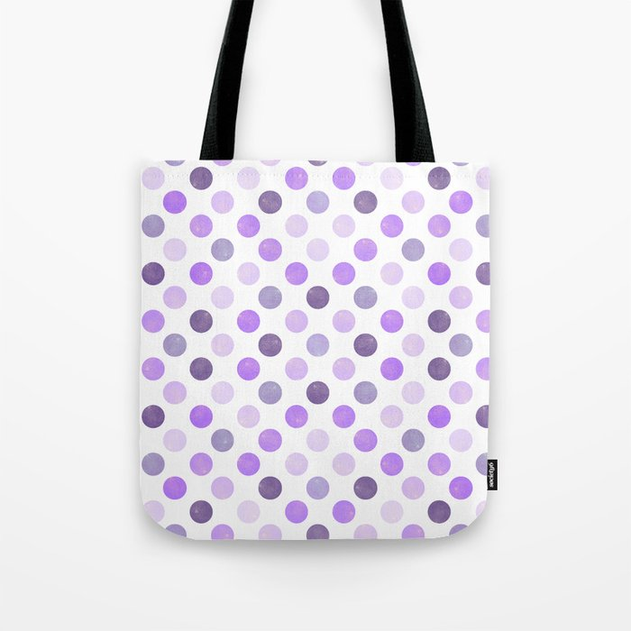Watercolor Dots Pattern III Tote Bag