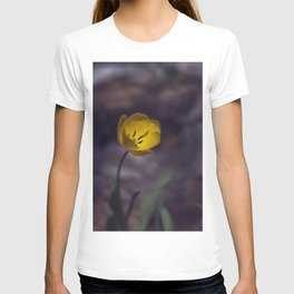 Yellow Tulip in The Forest T-shirt