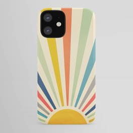 Sun Retro Art III iPhone Case
