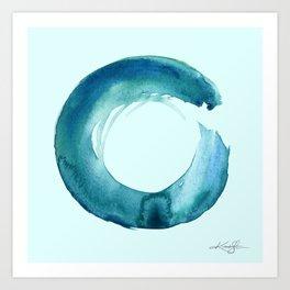 Serenity Enso No. 1 by Kathy Morton Stanion Kunstdrucke