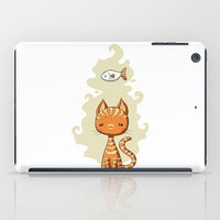ginger iPad Cases featuring Ginger Cat by Freeminds