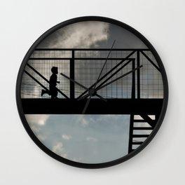 The running boy - a little surreal Wall Clock