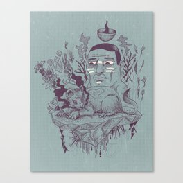 Inner beast Canvas Print