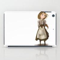allyson johnson iPad Cases featuring Flossie Ada Johnson by Nicola Davies