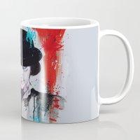 clockwork orange Mugs featuring A Clockwork Orange - ALEX by Denise Esposito