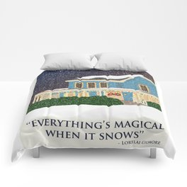 Gilmore girls house Comforters