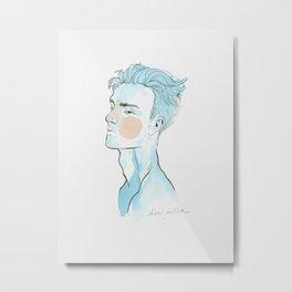Blue mood Metal Print