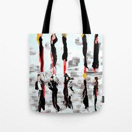 Wear Black Tote Bag