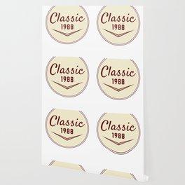 1988 Birthday Gift Vintage Classic 30th Birthday Present Wallpaper