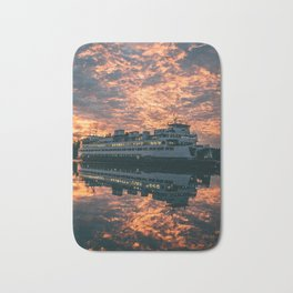 Friday Harbor Ferry Bath Mat