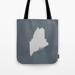 Maine State Tote Bag