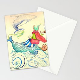 The Genius and the Lamp Stationery Cards