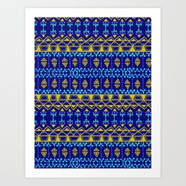 Boho Electric Art Print
