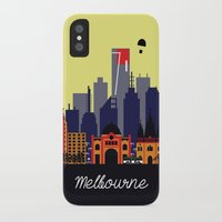 melbourne iPhone & iPod Cases featuring Lovely Melbourne by Jollybird Designs