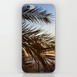 Summer Feels with Palms iPhone Skin