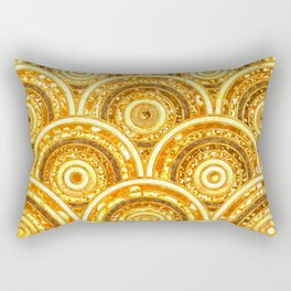 Aztec gold Rectangular Pillow