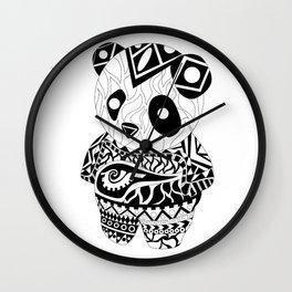 Panda Ecopet Wall Clock