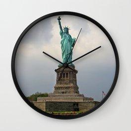 Miss Liberty Wall Clock