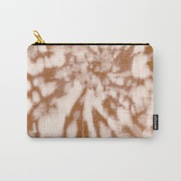 Tie Dye Chocolate and Cream Carry-All Pouch