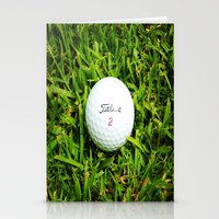 golf Stationery Cards featuring GOLF by Cooper Designs