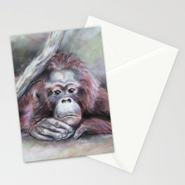 Big Red: Contemplating Stationery Cards