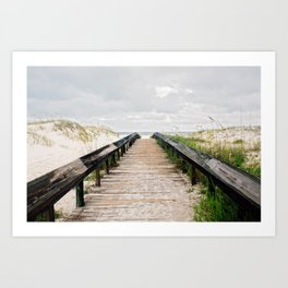 Headed to the Beach Art Print