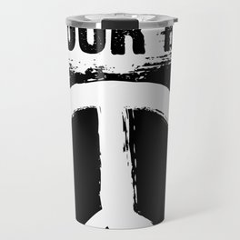 Raises The Heads, Not The Hands - Peace Signs Travel Mug