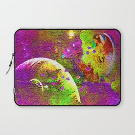 """"""" Love is a light come from the sky, a spark of the immortal fire which the angels share. """" Laptop Sleeve"""