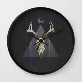 Poisoned Moon Wall Clock