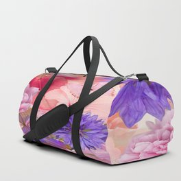 My Day In Fantasy Garden - #society6 #buyart Duffle Bag