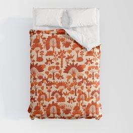 Exotic Garden - Orange Comforters