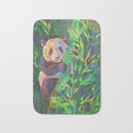 Panda in Bamboo Bath Mat