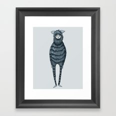 Kazia Monster Framed Art Print