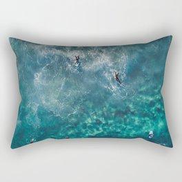Surfing in the Ocean 2 Rectangular Pillow