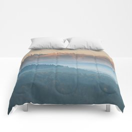 The mountains are calling #sunset Comforters