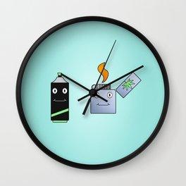 """High"" Lighters Wall Clock"