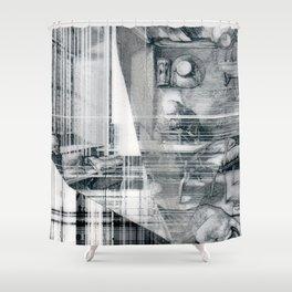 ereader Shower Curtain