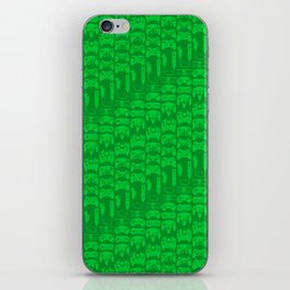 Video Game Controllers - Green iPhone Skin