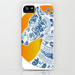 Horse Boho Style iPhone Case
