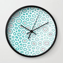 Exprimental Pattern XV Wall Clock
