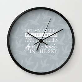 I suddenly remembered my Charlemagne Wall Clock