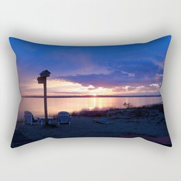 Sunset Chairs Rectangular Pillow