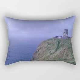 Fortress by the Sea Rectangular Pillow