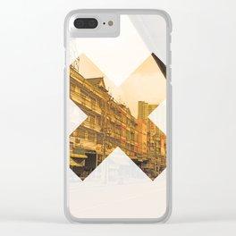 x 9 Clear iPhone Case
