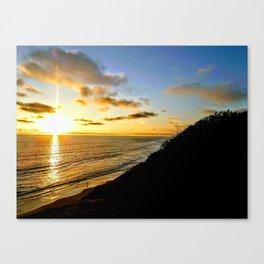 Coastal Last Light Canvas Print
