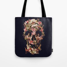 Jungle Skull Tote Bag
