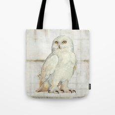 SnowOwl Tote Bag