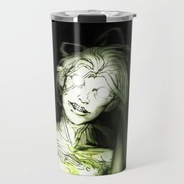she's in the woods Travel Mug